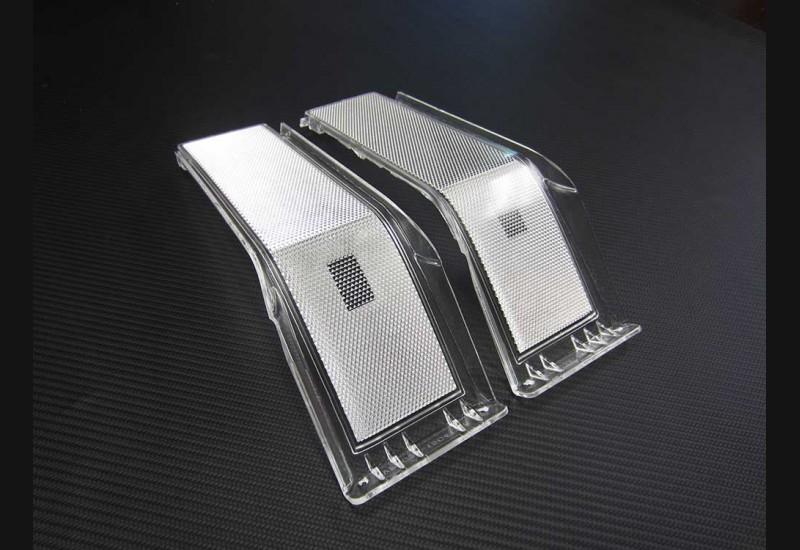 2008-2010 Superduty Clear Headlight Markers