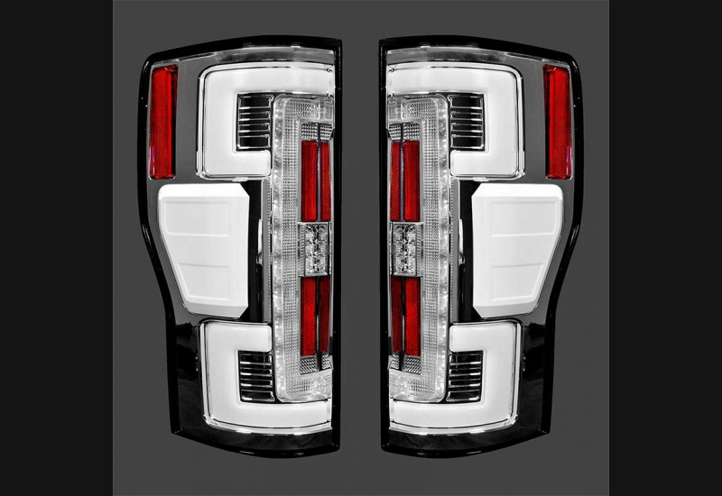 2017-19 Superduty Clear Tail Lights